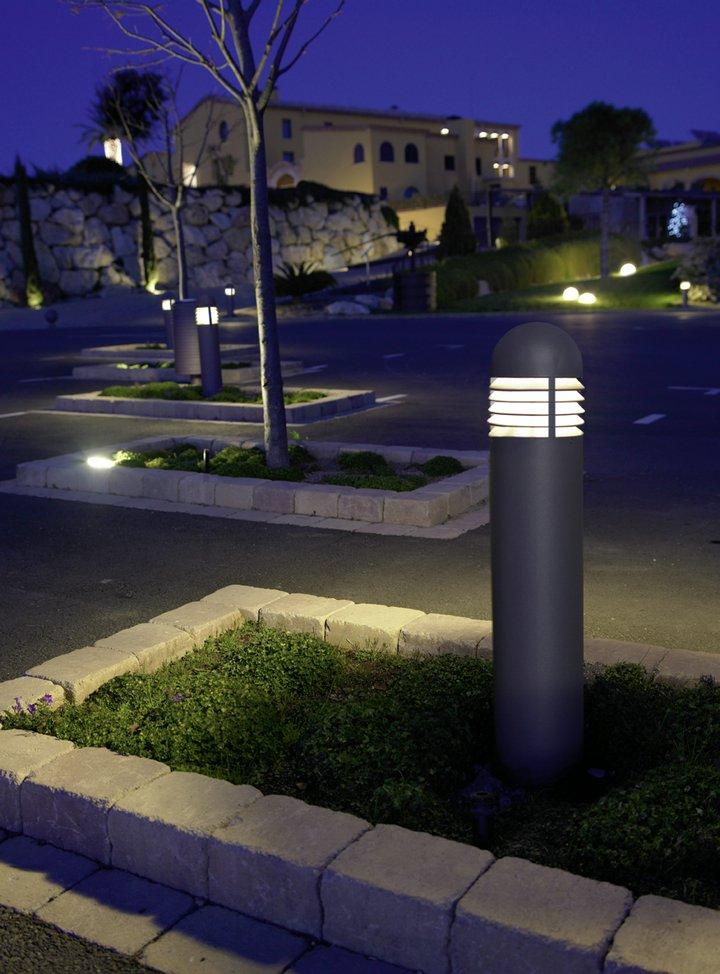 Urano Beacon E27 150W/ PL elect E27 30W Grey Urbano