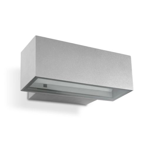 Afrodita Wall Lamp Outdoor 30x12x17cm LED Cree 8x3w 4200K Grey