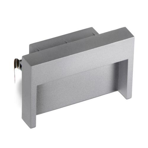 Micenas Recessed 13x8x9cm LED Cree 3w Grey