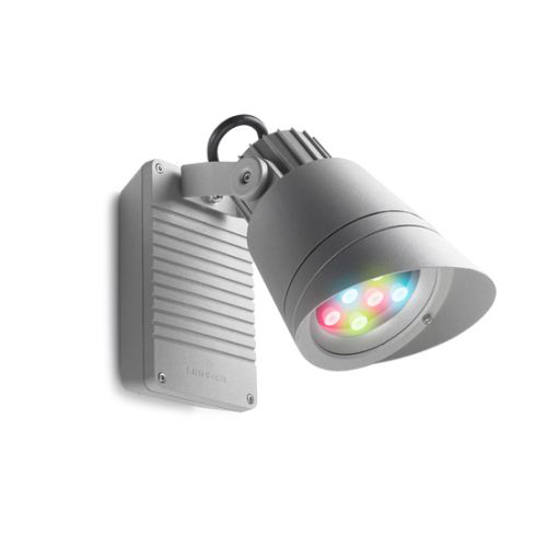 Hubble Apliquie Outdoor ø16cm LED 9x2.3w RGB Grey
