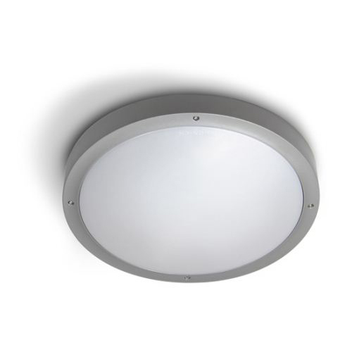 Basic Wall lamp/ceiling lamp 36cm E27 2x30w Grey
