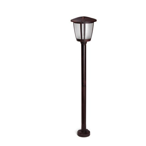 Evans Streetlight 20x100cm E27 Brown Oxide