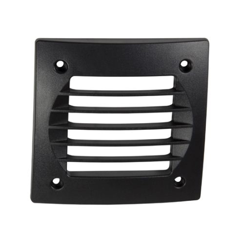 Basic Accessory embellecedor for square recessed with grill 11x11cm Grey Urbano