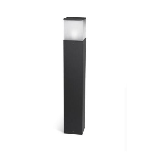 Cubik Beacon 15x15x90cm PL E27 60W Grey
