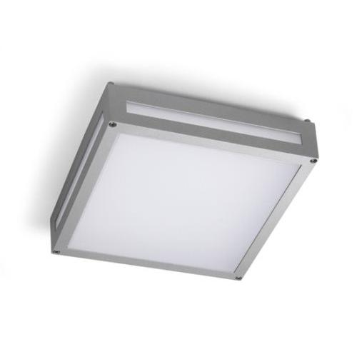 Leggett Plafón 30cm LED 15w 4200K gris