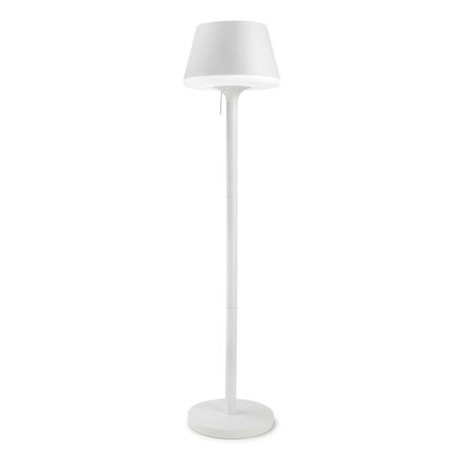 Moonlight Floor Lamp 43x180cm PL E27 lampshade of polyethylene opaca - white