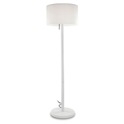 Smooth Outdoor Floor Lamp 50x175cm PL.E27 30w + LED 3w RGB white