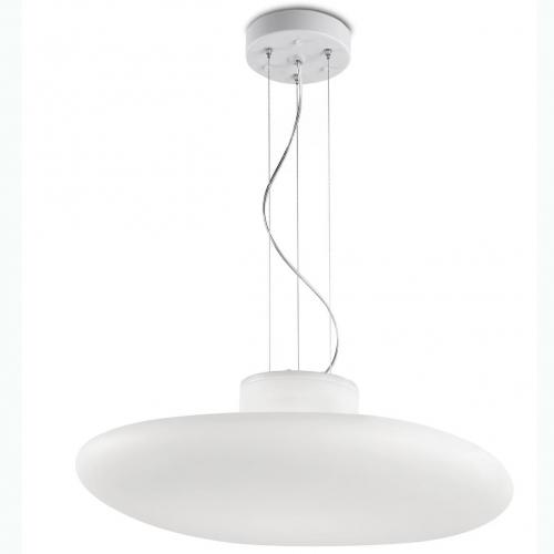 Kap Pendant Lamp 60cm E27 4x13w IP44 white