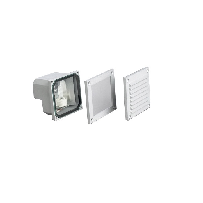 Micenas Recessed 11cm G9 40w + two frontales Grey