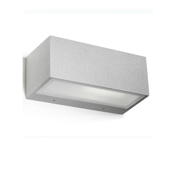 Nemesis Wall Lamp Outdoor 22x11x9cm E27 60w Grey