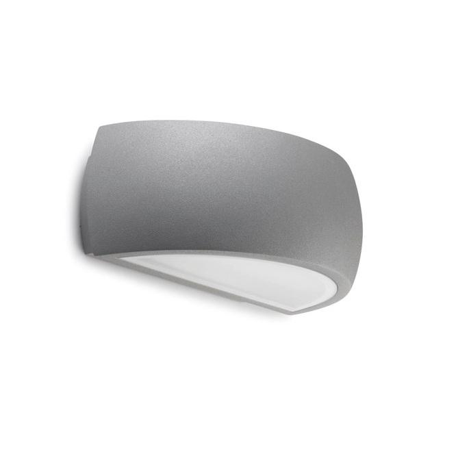 Delfos Wall Lamp Outdoor 23cm E27 60w Grey