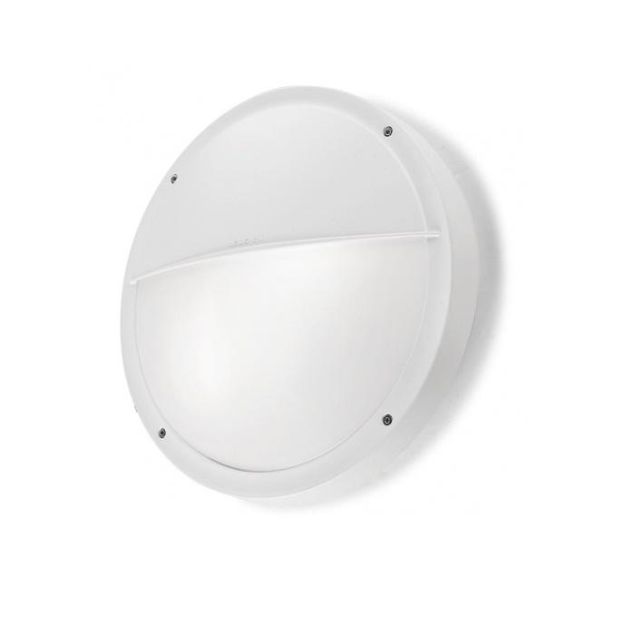 opal Wall Lamp Outdoor 30cm E27 2x18w white