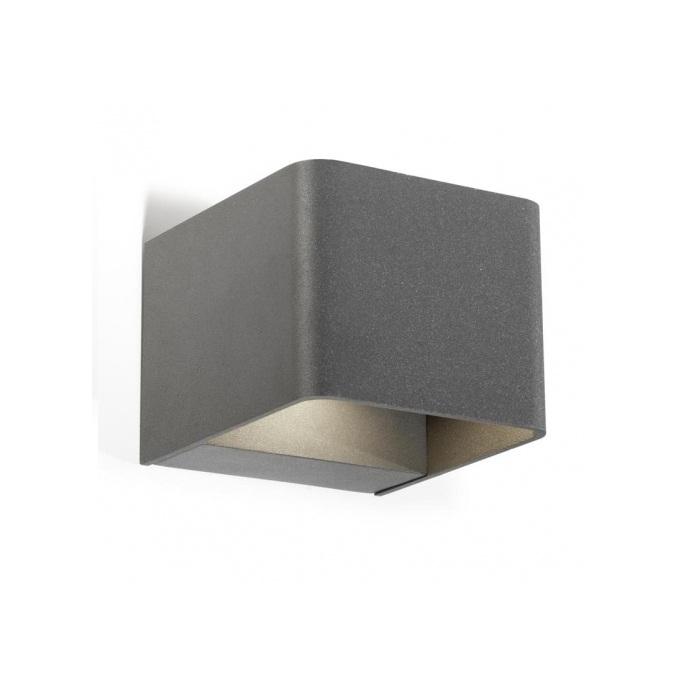 Wilson Aplique Exterior 11cm LED 6x1w 3000K gris Urbano