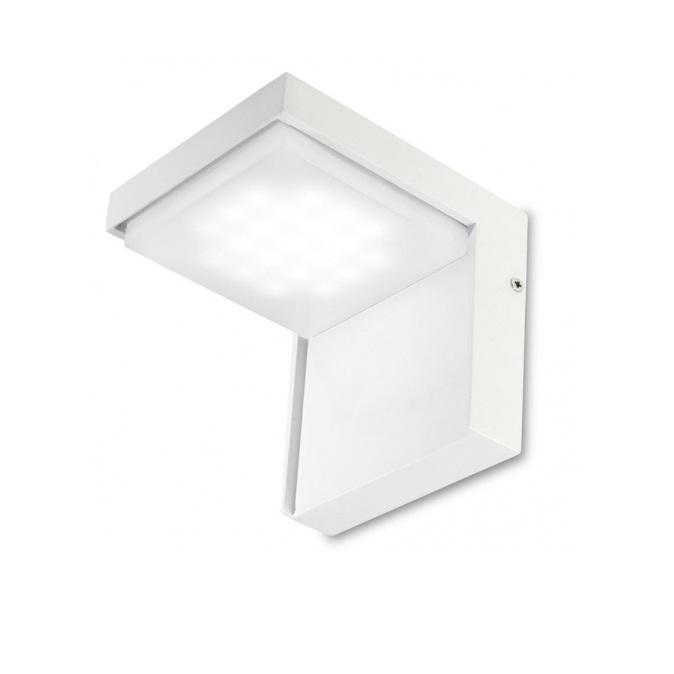 Corner Wall Lamp Outdoor 12cm LED 25x0.14w 3000K white