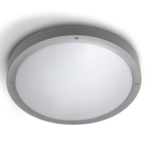 Basic Wall lamp/ceiling lamp ø36cm G24q-2 2x18w Grey