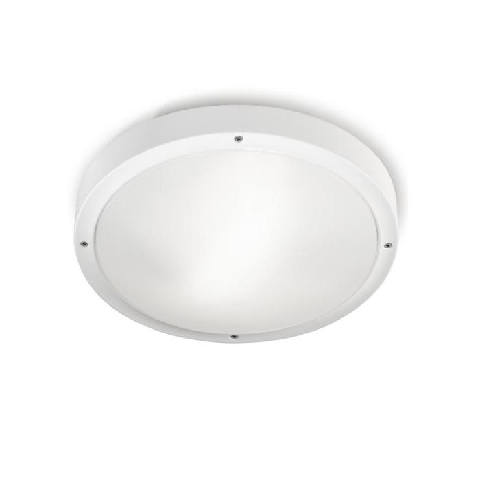opal ceiling lamp Outdoor 36cm E27 2x30w white