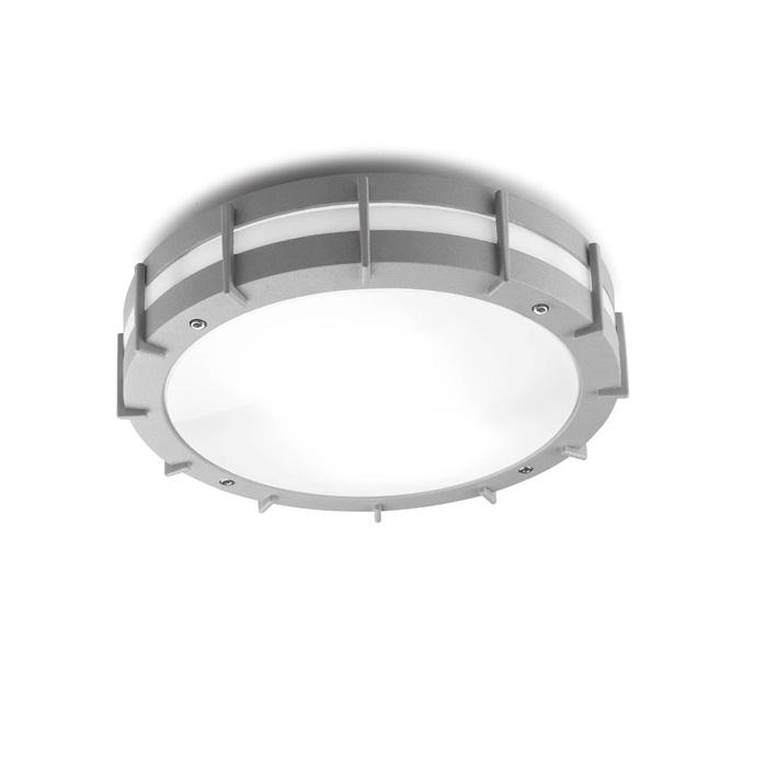 Sims ceiling lamp Outdoor ø30cm E27 2x23w Grey