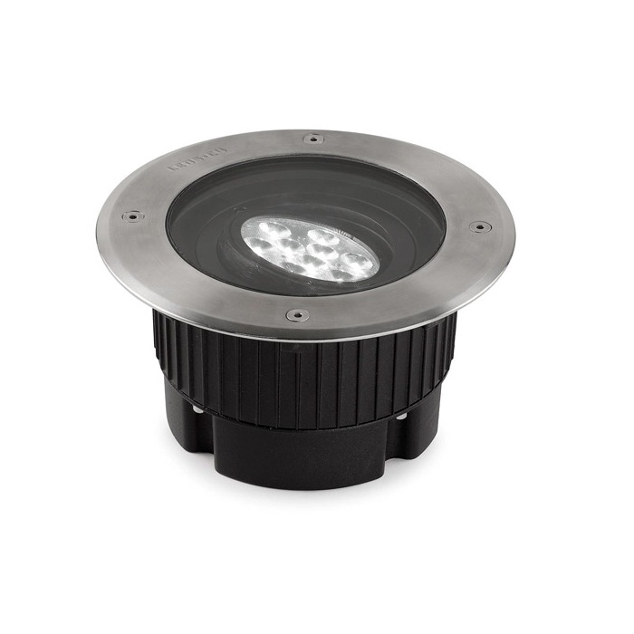 Gea Empotrable suelo 9 LED PHILIPS 9W 3000k pulido