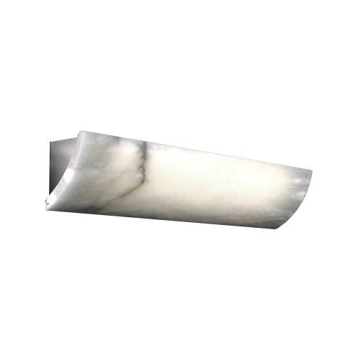 Cornisa Evolution ) Small Níquel Satin Alabaster white