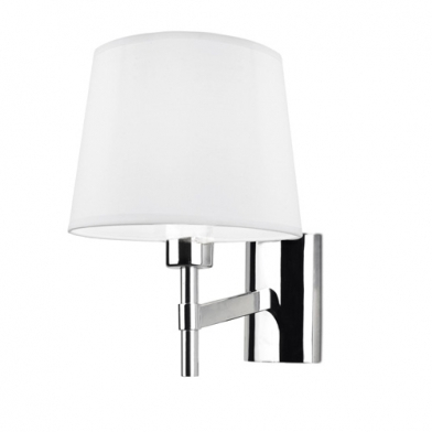 Bristol (Solo Structure) Wall Lamp without lampshade 16x17x8cm PL E E27 15w - Nickel Satin
