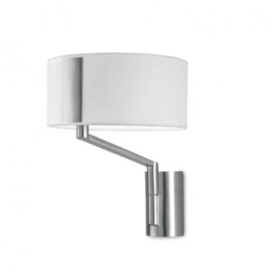 LEDS C4 TORONTO Ventilador de techo con luz níquel satinado
