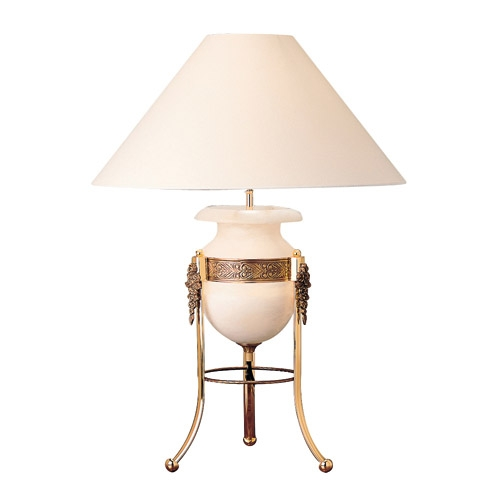 De las Rosas Table Lamp Gold/Patine rojizo