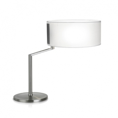 Twist Table Lamp 30,5x43cm PL E E27 15w - Nickel Satin