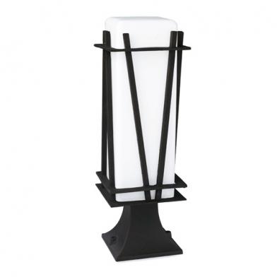 Reed Lantern 13x13x40cm Black