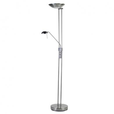 Creta lámpara de Pie 188cm R7s 300w - Níquel Satinado