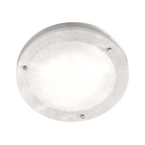 ceiling lamp Evolution i Nickel Satin Alabaster white