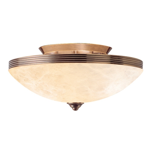 ceiling lamp Patine Alabaster champan