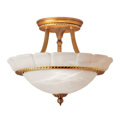 ceiling lamp EverGreen Gold/patine Rojizo Gold/Patine rojizo Alabaster white