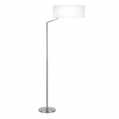 Twist Floor Lamp 45x166cm PL E E27 30w - Nickel Satin