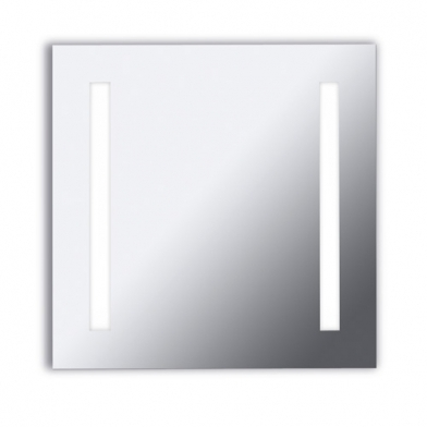 Reflex Aplique espejo 65x65x6cm 2x2G11 55w 4000K - Cromo