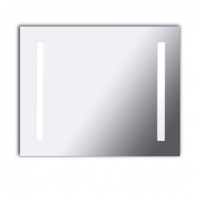 Reflex Wall Lamp mirror 80x65x6cm 2x2G11 55w 4000K - Chrome
