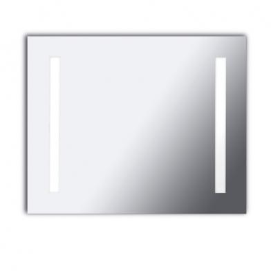 Reflex Wandleuchte spiegel 80x65x6cm 2x2G11 55w 4000K - Chrom