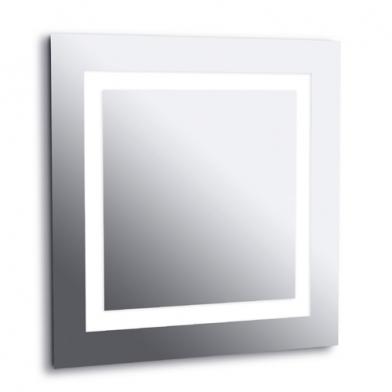 Reflex Aplique espejo 70,5x70,5x6cm 4x2G11 40w 4000K - Cromo