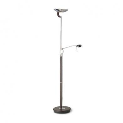lámpara of Floor Lamp Ibiza Chrome