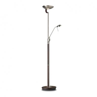 lámpara of Floor Lamp Ibiza Nickel