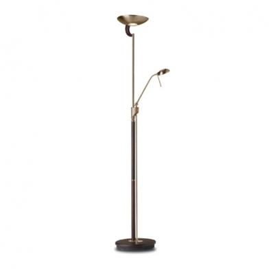 lámpara of Floor Lamp Ibiza Patiné