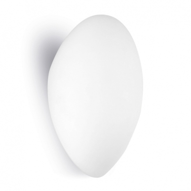 Glass Wall Lamp 15x23,5x11cm PL E E27 20w white