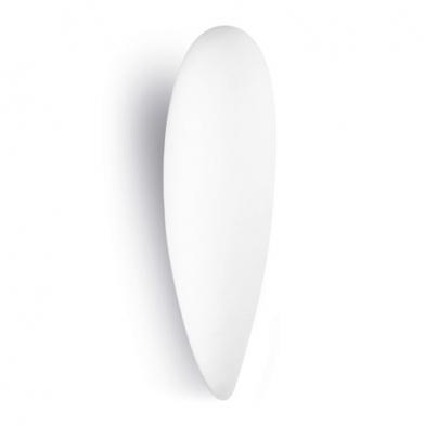 Glass Aplique 14x13x46cm PL E E27 23w blanco
