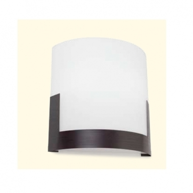 Niza Wall Lamp 25,5x26x9cm 2xPL E E27 21w Brown aged