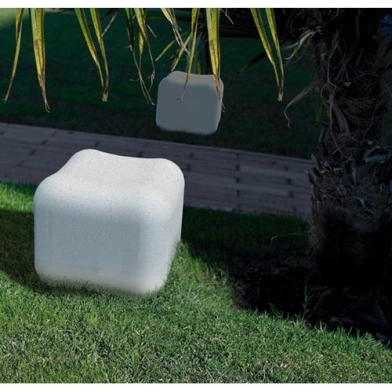cube / asiento of colours LED RGB 3 x 1W