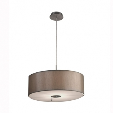 Up & Down Pendant Lamp iluminación direccional 50x150cm PL E E27 23w - Nickel Satin