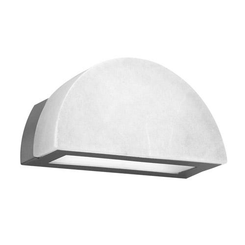Wall Lamp Evolution D Nickel Satin Alabaster white