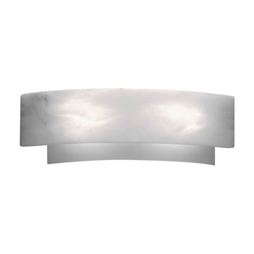 Wall Lamp Evolution (( white Alabaster white