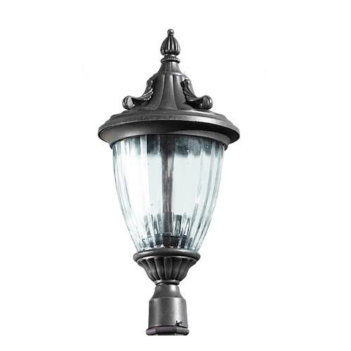 Galatea Header Streetlight combinable with Column 30cm Brown Oxide 3xE14 max 60W