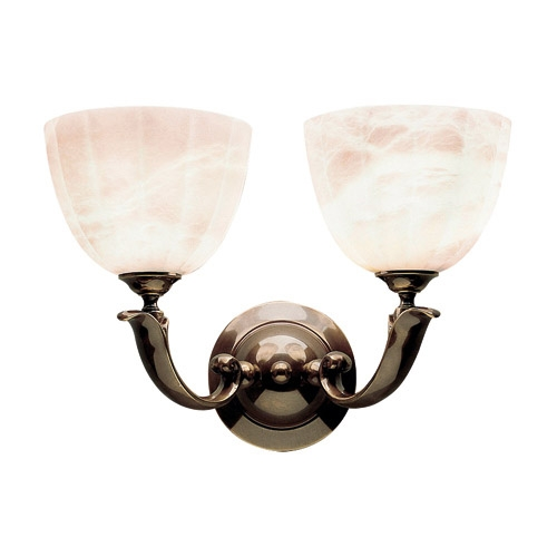 Wall Lamp Patine Alabaster white