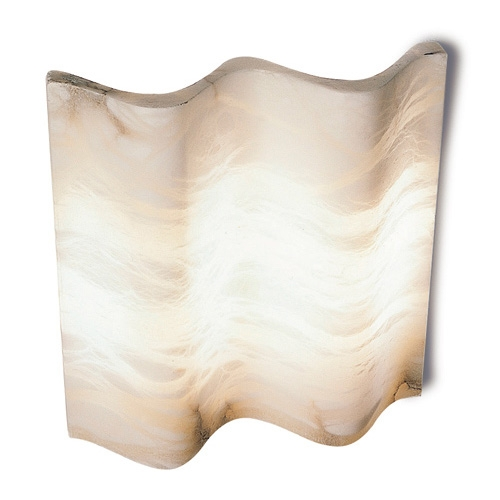 Wall Lamp white Alabaster white